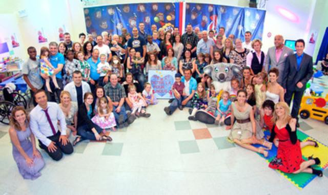 Le 24e Téléthon Opération Enfant Soleil : 17 221 000 $ pour que les enfants guérissent mieux (Groupe CNW/OPERATION ENFANT SOLEIL)