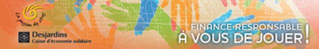 Lancement d'un tout nouveau jeu sur la finance responsable, une première! - Assemblée générale annuelle de la Caisse d'économie solidaire Desjardins (Groupe CNW/CAISSE D'ECONOMIE SOLIDAIRE DESJARDINS)