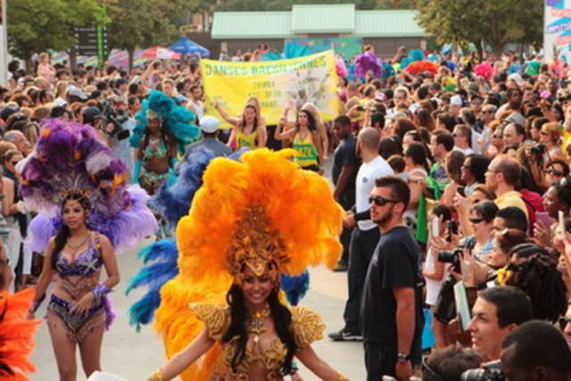 Carnaval d'été brésilien aux Week-ends du monde (Groupe CNW/SOCIETE DU PARC JEAN-DRAPEAU)