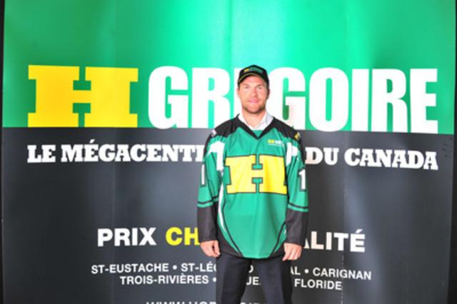David Desharnais (Groupe CNW/MEGACENTRES H. GREGOIRE)