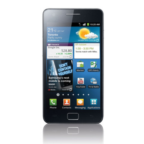 Samsung GALAXY S II. (CNW Group/Samsung Electronics Co., Ltd.)