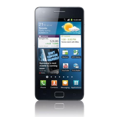 Samsung GALAXY S II. (CNW Group/Samsung Electronics Co., Ltd.)