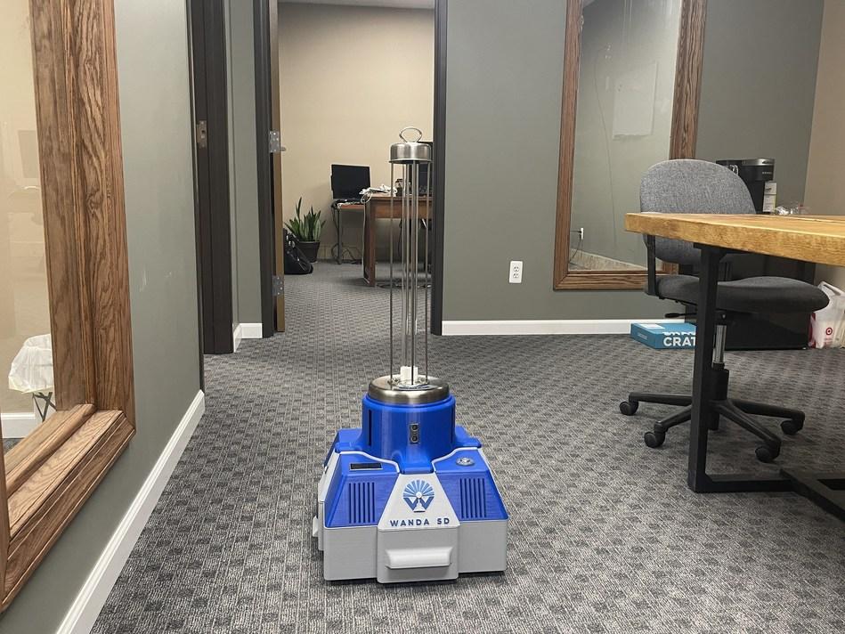 Resgreen Group met sur le marché un robot désinfectant abordable et efficace