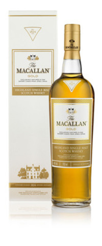 The Macallan 1824 Series - Gold (CNW Group/BEAM Global Canada Inc.)