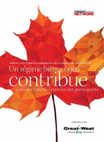 Le Rapport 2015 d'analyse comparative sur les régimes de capitalisation procure des analyses et des renseignements aux employeurs. (Groupe CNW/La Great-West, compagnie d'assurance-vie)