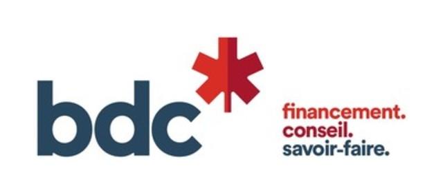 Logo : bdc* financement. conseil. savoir-faire. (Groupe CNW/Banque de développement du Canada)