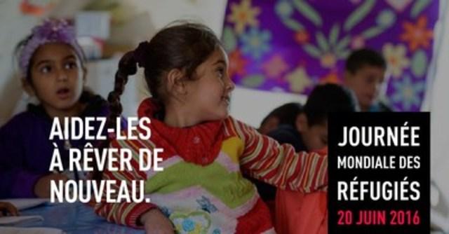 Invitation aux médias : Journée mondiale des réfugiés (Groupe CNW/World Vision Canada)