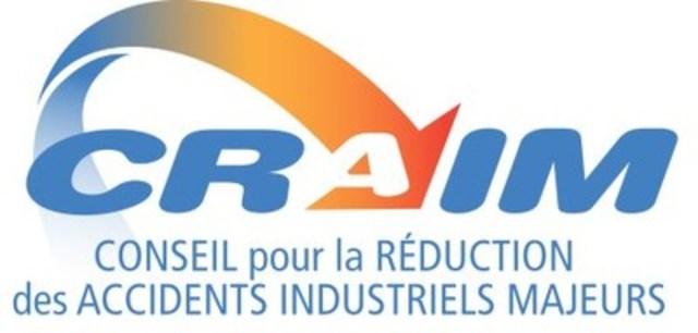 Logo : Conseil pour la réduction des accidents industriels majeurs (CRAIM) (Groupe CNW/Conseil pour la réduction des accidents industriels majeurs (CRAIM))