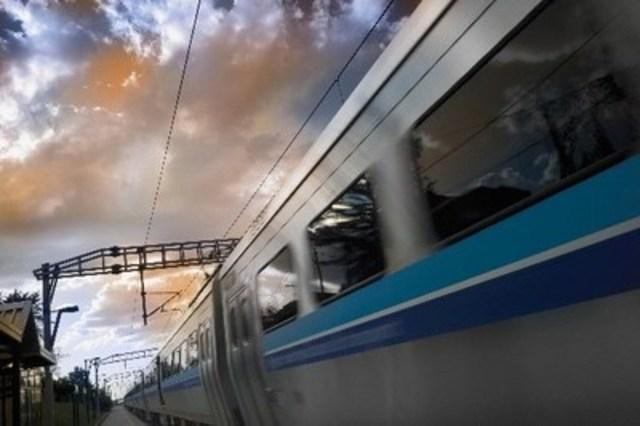 Train MR-90 - avec l'aimable autorisation de l'AMT (Groupe CNW/ABB inc.)