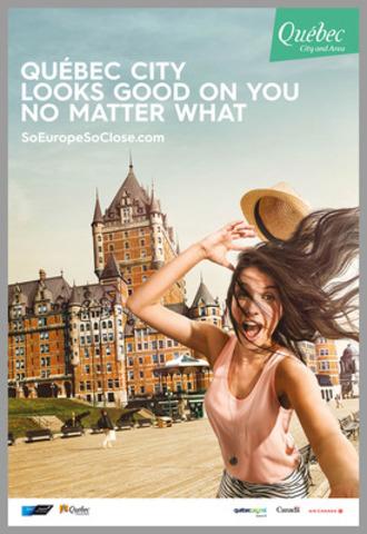 Créatif Terrasse Dufferin  - Campagne été 2015 - Boston/Toronto (Groupe CNW/OFFICE DU TOURISME DE QUEBEC)