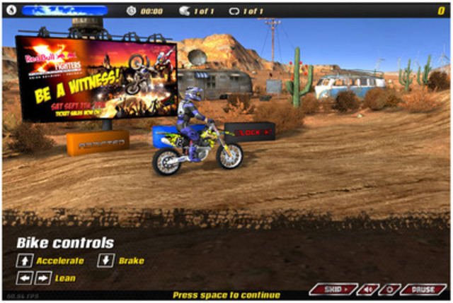 Red Bull X-Fighters' in-game advertising campaign, using the Reloaded Network (CNW Group/Reloaded In-Game Advertising) (CNW Group/Reloaded Interactive)