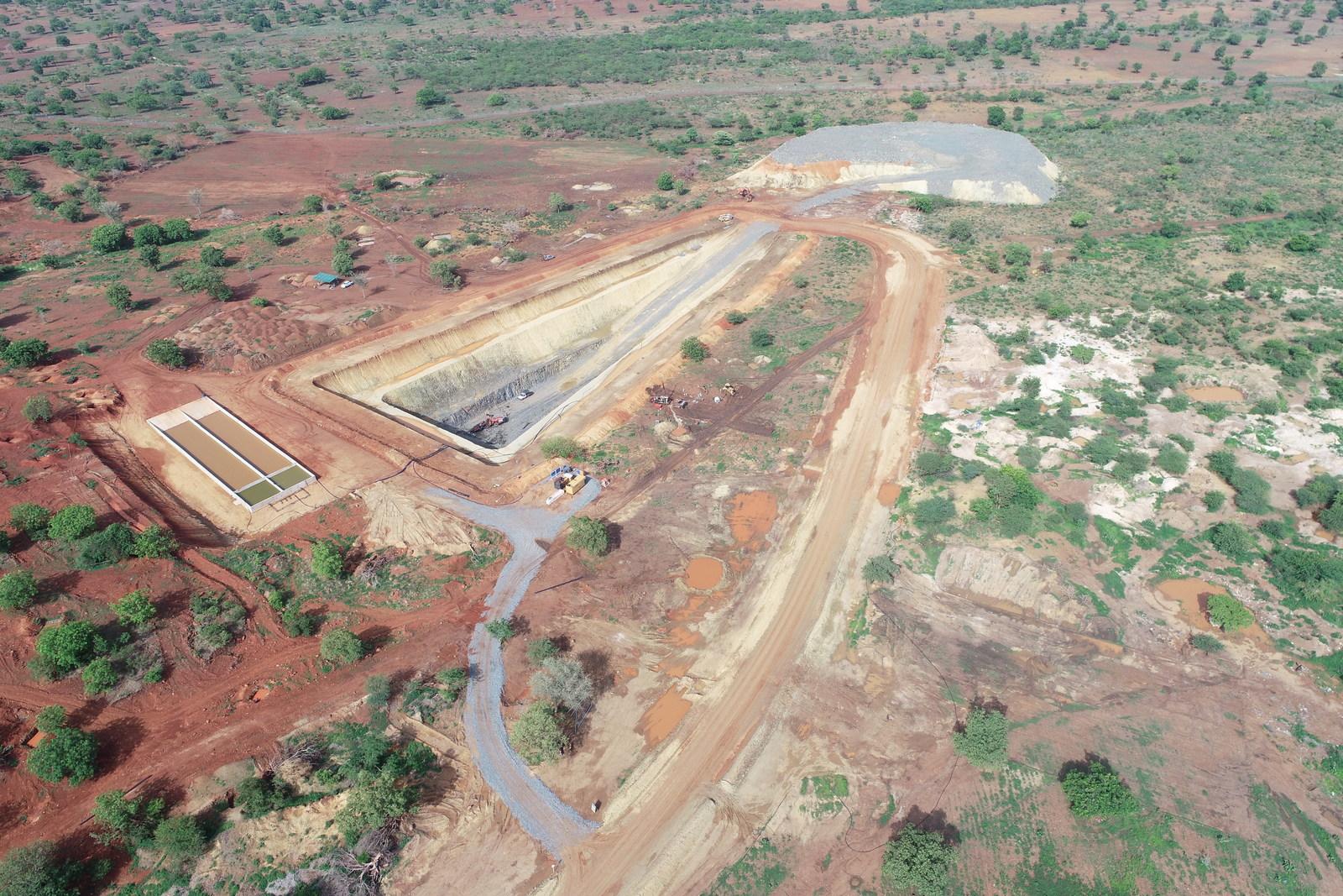 Bagassi South - Aerial View