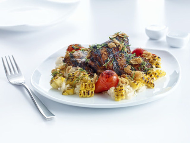 BBQ Chicken (CNW Group/Air Canada)