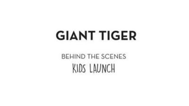 Video: Behind the Scenes - Exclusively at Giant Tiger