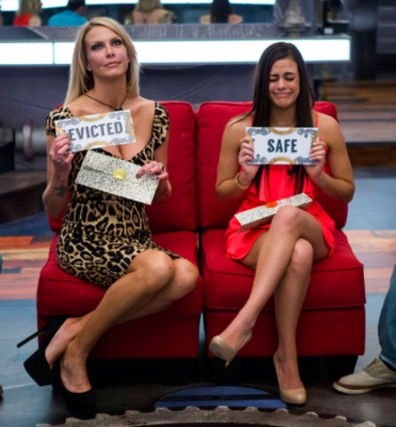 Risha Denner becomes the first person evicted from Big Brother Canada. (CNW Group/Global Television)
