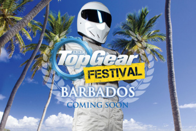 Barbados to host 2014 Top Gear Festival (CNW Group/Barbados Tourism Authority)