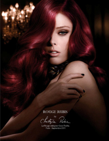 Canadian Supermodel Coco Rocha, newly named host of Canada's Best Beauty Talent, dazzles as a sultry redhead in L'Oréal Paris Superior Preference haircolour for its international advertising campaign launching this fall. (CNW Group/L'Oreal Paris)
