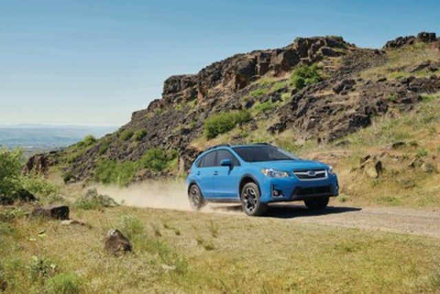 Subaru Crosstrek 2016 (Groupe CNW/Subaru Canada Inc.)