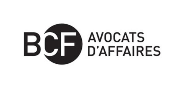 Logo : BCF Avocats d'affaires (Groupe CNW/BCF Avocats d''affaires)