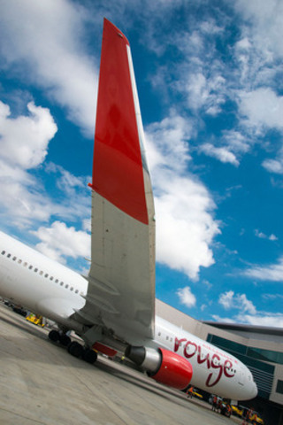Air Canada rouge Lisbon 2 - Air Canada rouge flight 1916 arrives in Lisbon from Toronto on Sunday June 22 (CNW ...