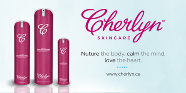 Go Healthy and 100% Natural with New Cherlyn™ Skincare (CNW Group/Cherlyn Skincare)