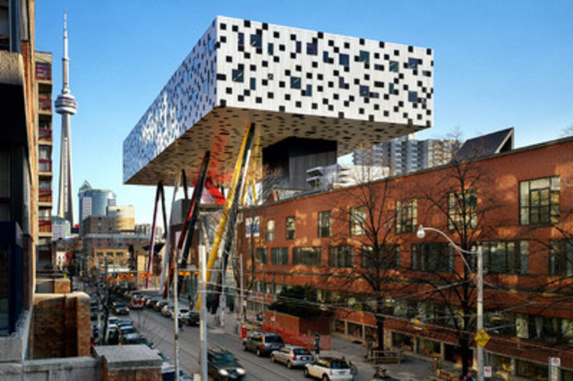 OCAD University and the Sharp Centre for Design. Photo credit: Richard Johnson interiorimages.ca (CNW Group/OCAD University)