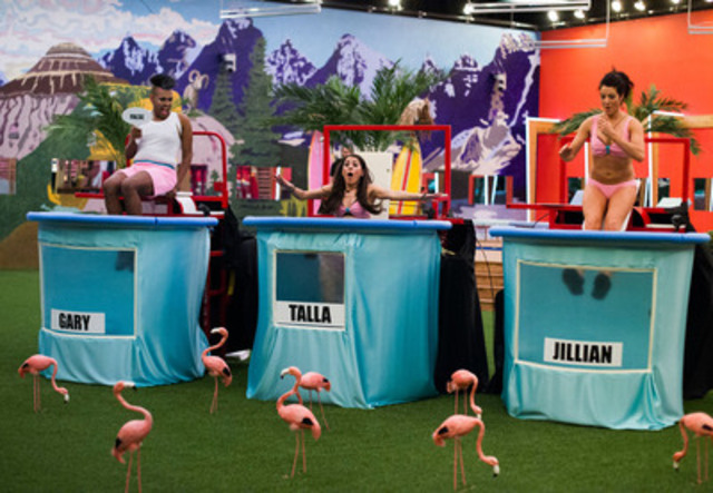 Big Brother Canada What the Dunk? HOH Challenge (CNW Group/Shaw Media)