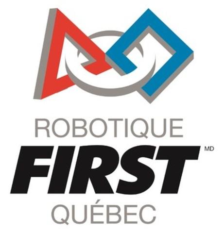 Logo : Robotique FIRST Québec (Groupe CNW/Robotique FIRST Québec)
