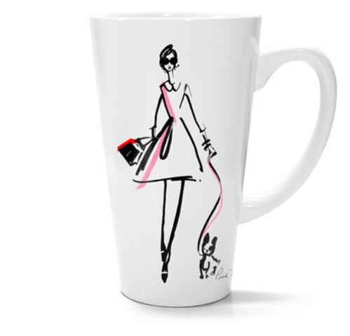 La célèbre griffe canadienne Pink Tartan et Keurig, une marque de Green Mountain Coffee Roasters, s'associent pour la création d'une tasse en série limitée (Groupe CNW/GMCR Canada)