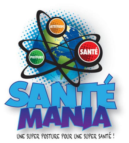 SANTÉMANIA : une super posture pour une super santé (Groupe CNW/Association des chiropraticiens du Québec)