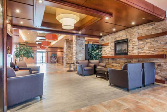 Vivez une expérience de voyage des plus agréables et profitez d'un hébergement de première qualité à l'hotel Quality Inn & Suites Lévis, à Québec. (Groupe CNW/Choice Hotels Canada Inc.)