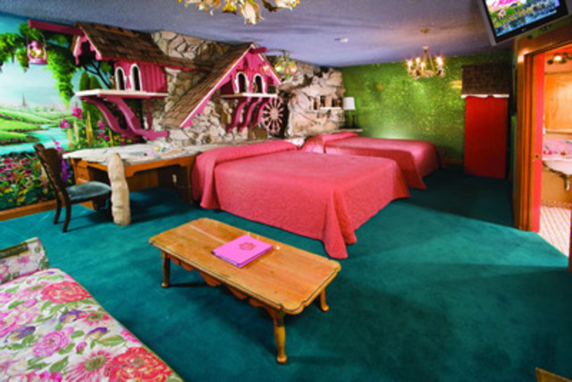 If your design tastes are best described as 'eclectic', you'll love the rooms at the Madonna Inn & Spa (CNW Group/Hotels.com)
