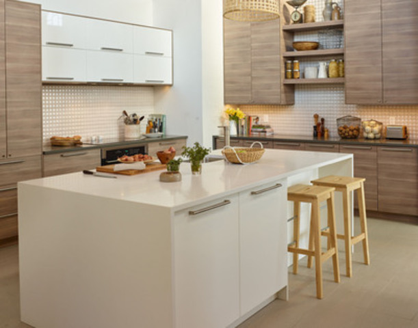 New IKEA SEKTION kitchen designed for Lynn Crawford at IKEA's House of Kitchens (CNW Group/IKEA Canada)