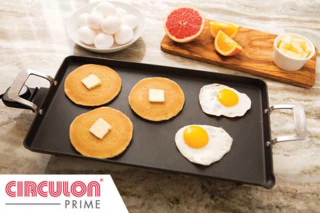 Griddle from Circulon's Prime Collection (CNW Group/Circulon)