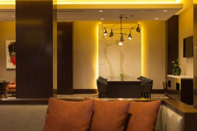 Business Centre in the Great Room Lobby - Our newly-renovated lobby features many comfortable seating areas, ...
