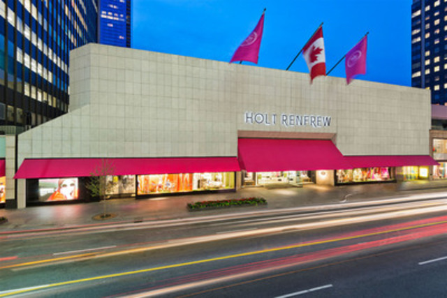 Holt Renfrew 50 Bloor Street Store (CNW Group/Holt Renfrew)