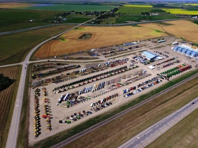 Ritchie Bros. sold CA$24+ million of equipment and trucks at its largest-ever Lethbridge, AB auction last week (CNW Group/Ritchie Bros. Auctioneers)