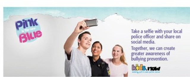 Police Association partners with Kids Now to help prevent bullying (CNW Group/Police Association of Ontario)