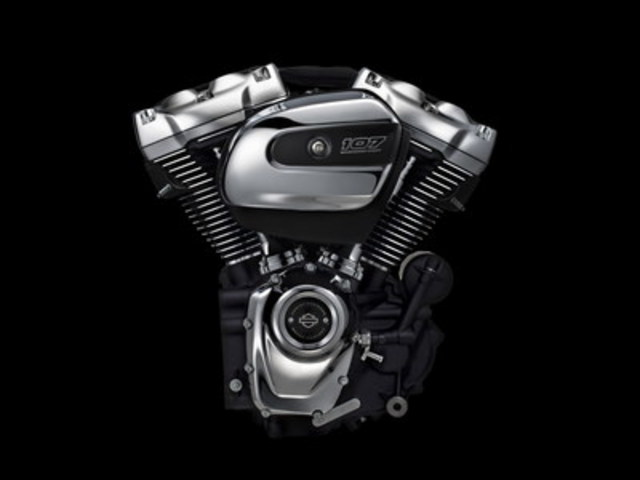Harley-Davidson's new Milwaukee-Eight engine, the ninth Big Twin in the company's history, delivers more power and an improved riding experience while retaining the iconic look, sound and feel of its predecessors. (CNW Group/Harley-Davidson Canada)