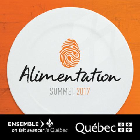 Logo : Sommet sur l'alimentation (Groupe CNW/Cabinet du ministre de l'Agriculture, des Pêcheries et de l'Alimentation)