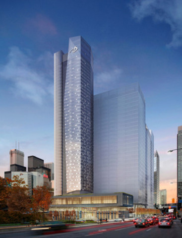 Delta Hotels and Resorts unveils flagship hotel in Toronto's South Core Neighbourhood (CNW Group/Delta Hotels and Resorts)