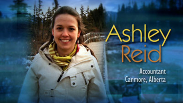 As an avid skier, the cost of ski trips adds up quickly for Ashley Reid. She believes that her financial knowledge has allowed her to make better decisions when it comes to the management of her personal finances.