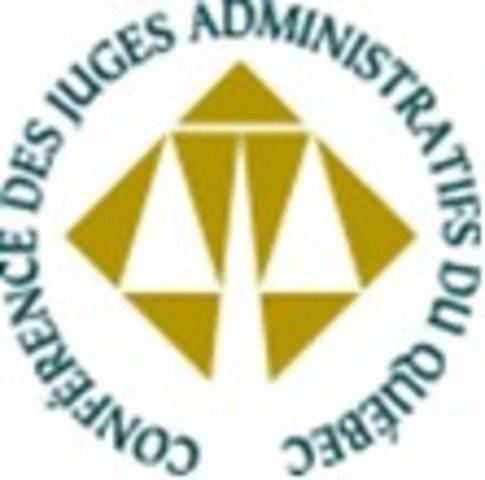 Logo : Conférence des juges administratifs du Québec (CJAQ) (Groupe CNW/Conférence des juges administratifs du Québec (CJAQ))