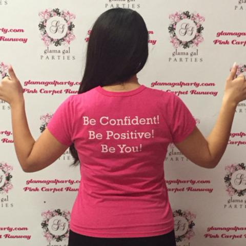 #GGitforward on #PinkShirtDay (CNW Group/Glama Gal Tween Spa)