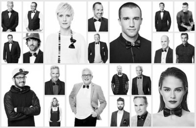 Les 21 ambassadeurs NOEUDVEMBRE 2015 de PROCURE (Groupe CNW/PROCURE)