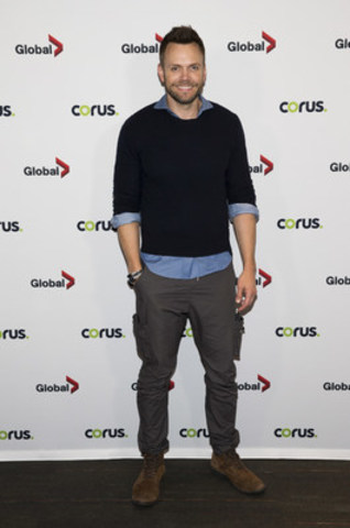 Joel McHale, star of The Great Indoors, at the Corus Upfront Press Event in Toronto on June 9, 2016. (CNW Group/Corus Entertainment Inc.)