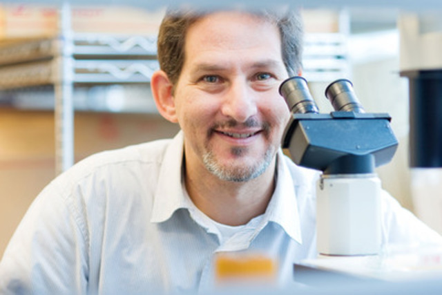 Dr. Stuart Berger, senior scientist at University Health Network, has developed a potential innovation for the bio-manufacturing sector, which is a rapid-growth area. His technology is being commercialized by MaRS Innovation. (CNW Group/MaRS Innovation)