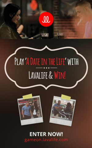 "Lavalife Prepares for Re-launch with ""A Date in the Life"" Video Campaign and Contest (CNW Group/Lavalife Inc.)"