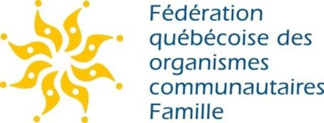 Logo : Fédération québécoise des organismes communautaires Famille (Groupe CNW/Fédération québécoise des organismes communautaires Famille (FQOCF))