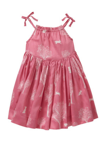 babyGap Peter Rabbit Collection, Infant Girls Bunny Print Sun Dress, $44.95. www.gapcanada.ca (CNW Group/Gap Canada)